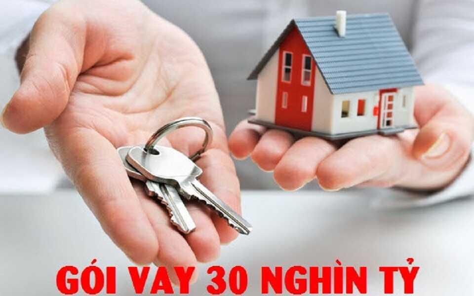 mua nhà ở xã hội sau gói vay 30 nghìn tỷ